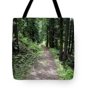 Shady Grove Path Tote Bag