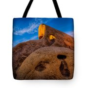 Shaft Of Sun Through The Keyhole Tote Bag