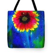 Shaggy Moon For A Shaggy Flower Tote Bag