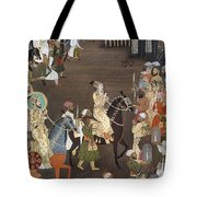 Shah Jahan (1592-1666) Tote Bag