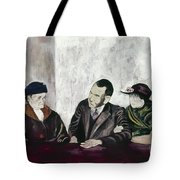 Shahn: Man & Women Tote Bag