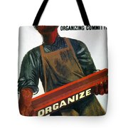 Shahn: Steel Union Poster Tote Bag