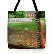 Shaker Chickens Tote Bag