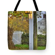 Shaker Fall Decor Tote Bag