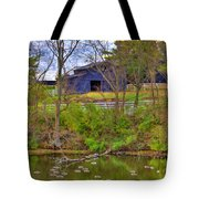 Shaker Lake Geese Tote Bag