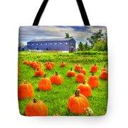 Shaker Pumpkin Harvest Tote Bag
