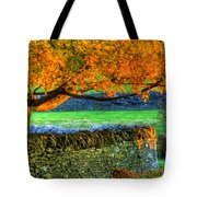 Shaker Stone Fence 1 Tote Bag