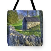 Shaker Stone Fence 6 Tote Bag