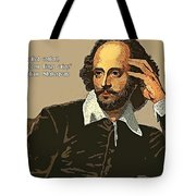 Shakespeare Quote Ten Tote Bag
