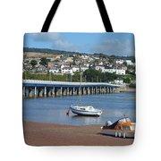 Shaldon Bridge Tote Bag