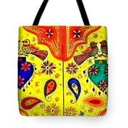 Shalimar Birds - Jinga Bird Tote Bag
