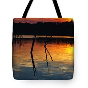 Shallow Water Sunset Tote Bag