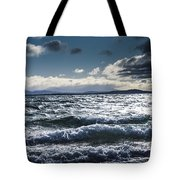 Shallows And Depths Of Adventure Bay Tote Bag