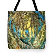 Shaman Spirit Tote Bag by Kim Jones