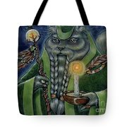 Shaman's Moon Tote Bag