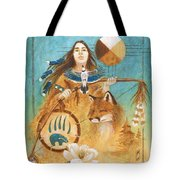 Shaman's Path Tote Bag