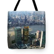 Shanghai By The River Tote Bag