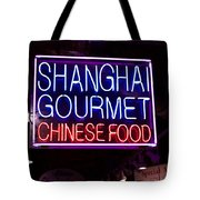 Shanghai Chinese Food Tote Bag