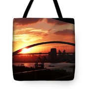 Shanghai City 12 Tote Bag