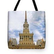 Shanghai Exhibition Center - Soviet Friendship Mansion Tote Bag