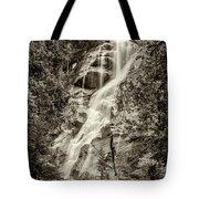Shannon Falls - Bw Tote Bag