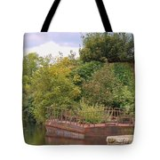 Shannon River Barge Tote Bag