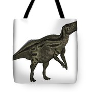 Shantungosaurus Dinosaur Tote Bag