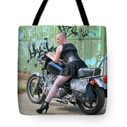 Shapely Sidestand Tote Bag