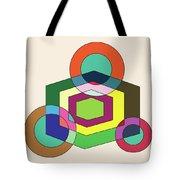 Shapeplay40clr Tote Bag