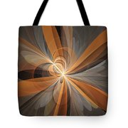 Shapes Of Fantasy Flowers Tote Bag