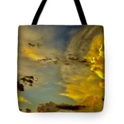 Shapes Of Heaven Tote Bag