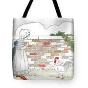 Shara And The Rooster Tote Bag