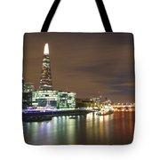 Shard From Tower Bridge London Tote Bag