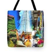 Shard Gardens Tote Bag