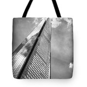Shard, London In Black And White  Tote Bag