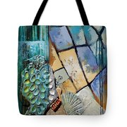 Shards Water Clay And Fire Tote Bag