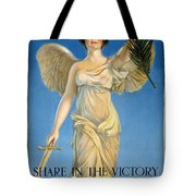 Share In The Victory. Save For Your Country Tote Bag