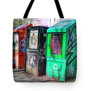 Share Your Metro With A Friend Tote Bag