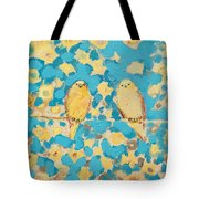 Sharing A Sunny Perch Tote Bag