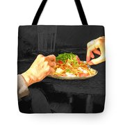 Sharing Dinner Tote Bag