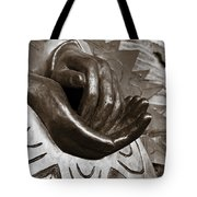Sharing Hands Tote Bag