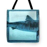 Shark In Magic Cubes - 2 Of 3 Tote Bag