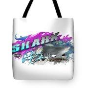 Shark Life Pink Lemon Shark Tote Bag