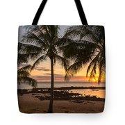 Sharks Cove Sunset 3 - Oahu Hawaii Tote Bag
