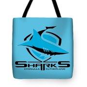 Sharks Cronulla Sutherland Tote Bag