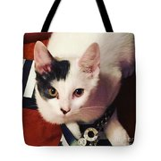 Sharky Is Shoe Cat Tote Bag