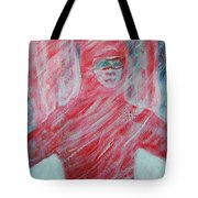 Sharon's First Blizzard Tote Bag