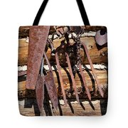 Sharp Rusty Objects Tote Bag