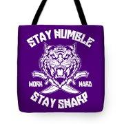 Sharp Tiger Tote Bag