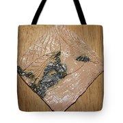 Sharpen - Tile Tote Bag